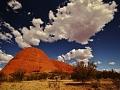 Austrálie centrální část, okolí Ayers Rock